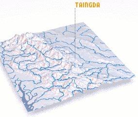 3d view of Taingda