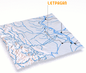 3d view of Letpagan