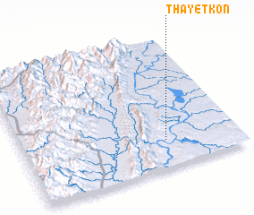 3d view of Thayetkon