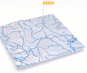 3d view of Bahin