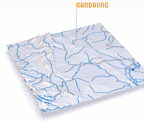 3d view of Kandaung