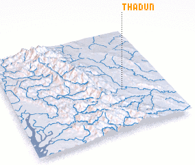3d view of Thadun