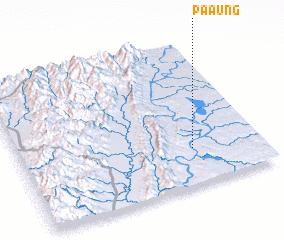 3d view of Pa-aung