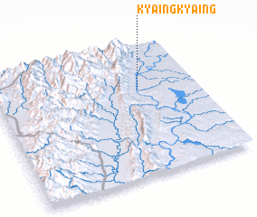3d view of Kyaingkyaing