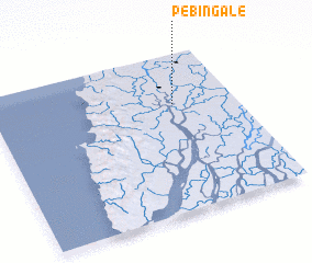 3d view of Pebin-gale
