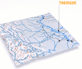 3d view of Theingon