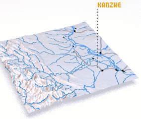 3d view of Kanzwe