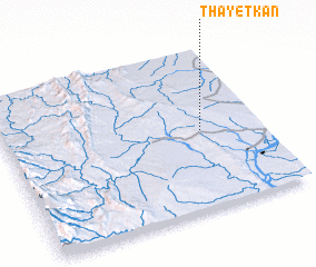 3d view of Thayetkan