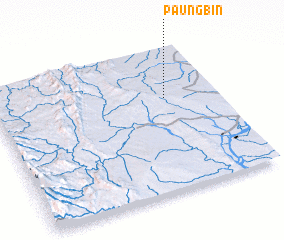 3d view of Paungbin