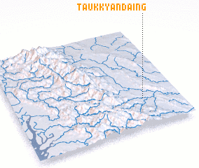 3d view of Taukkyandaing