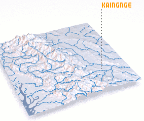 3d view of Kaingnge