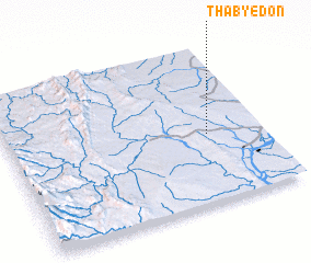 3d view of Thabyedon