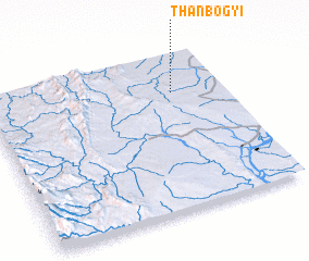3d view of Thanbogyi