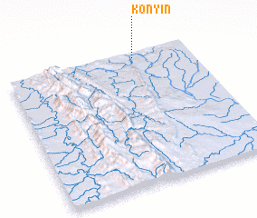 3d view of Kônyin