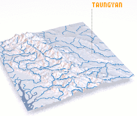 3d view of Taungyan