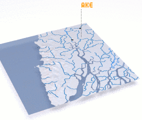 3d view of Ake