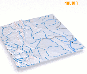 3d view of Ma-u-bin