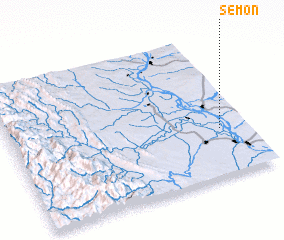 3d view of Semon