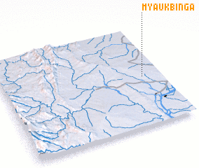3d view of Myaukbinga