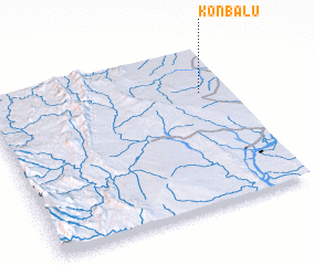3d view of Kônbalu
