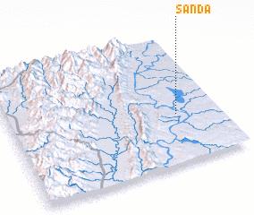3d view of Sanda