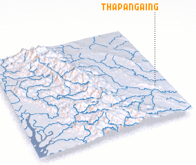 3d view of Thapangaing