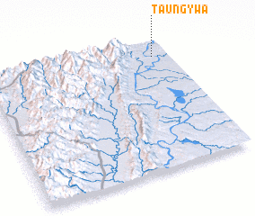3d view of Taung-ywa
