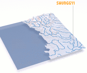 3d view of Saunggyi
