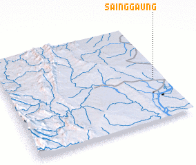 3d view of Sainggaung