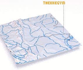 3d view of Thekkegyin
