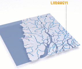 3d view of Ludawgyi