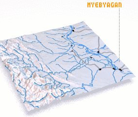 3d view of Myebyagan