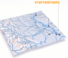 3d view of Kywethomyaung