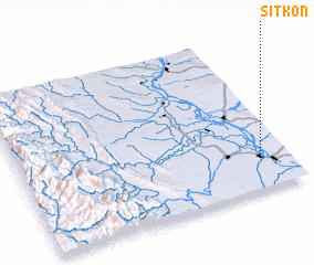3d view of Sitkon