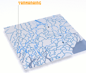 3d view of Yanmanaing