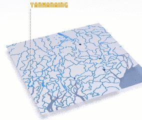 3d view of Yanmanaing