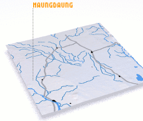 3d view of Maungdaung