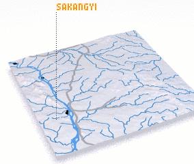3d view of Sakangyi