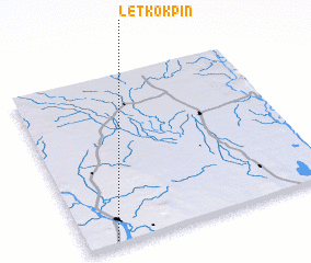 3d view of Letkokpin