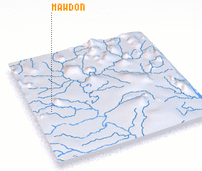 3d view of Mawdon