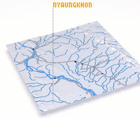 3d view of Nyaungkhon
