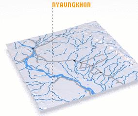 3d view of Nyaungkhon