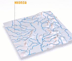 3d view of Hkonsa