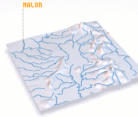 3d view of Malon