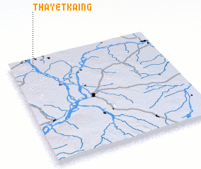 3d view of Thayetkaing