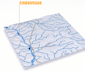 3d view of Sinbaungwe