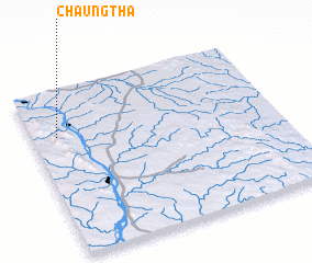 3d view of Chaungtha