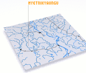 3d view of Myetni Kyaungu