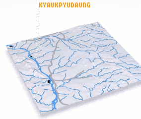 3d view of Kyaukpyudaung