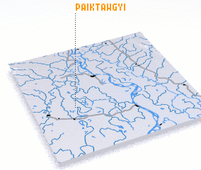 3d view of Paiktawgyi